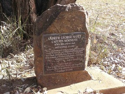 Captain Moonlite grave