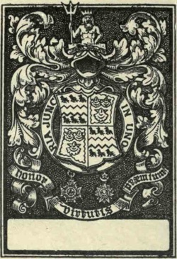 Blood Family Coat of Arms